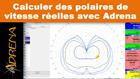 Calcul de polaires de vitesse réelles