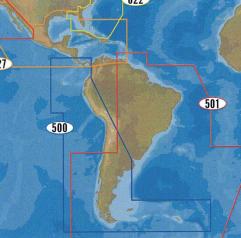 Cartes CMap Wide Amérique du Sud