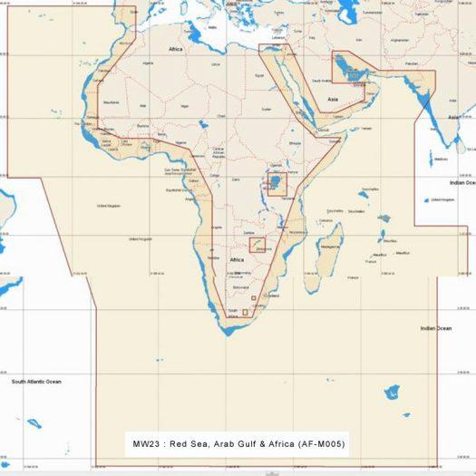 MW23 - Red Sea, Arab Gulf and Africa