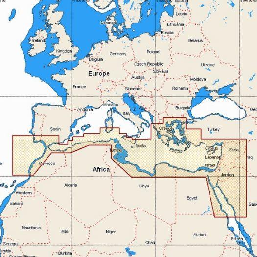 W83 - South Mediterranean Sea and Aegean Sea