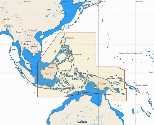 W54 - Philippines, Papua New Guinea, E Indonesia