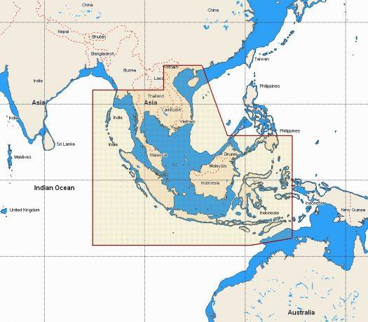 W68 - Thailand, Malaysia, West Indonesia