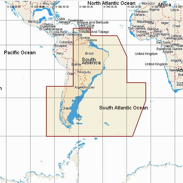 Cape Horn On South America Map.South America Adrena Software
