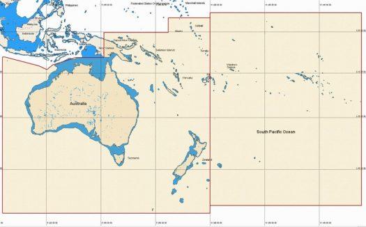 MW19 - AUS-NZ, PNG, Vanu, New Cal, Fiji, FR Pol