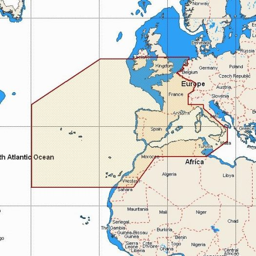 MW3 - West European Coasts and West Med.