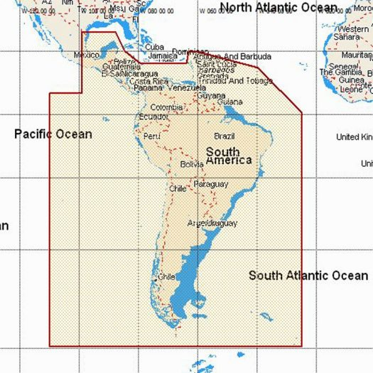 MW22 - South America & South Caribbean Sea