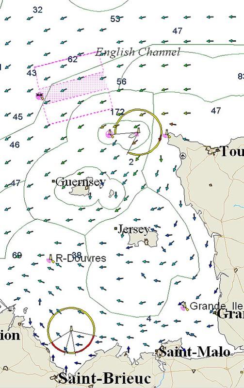 562 Golfe Normand-Breton, Cherbourg à Paimpol