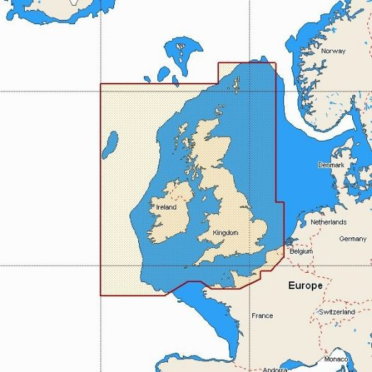 W88 - UK, Ireland and The Channel