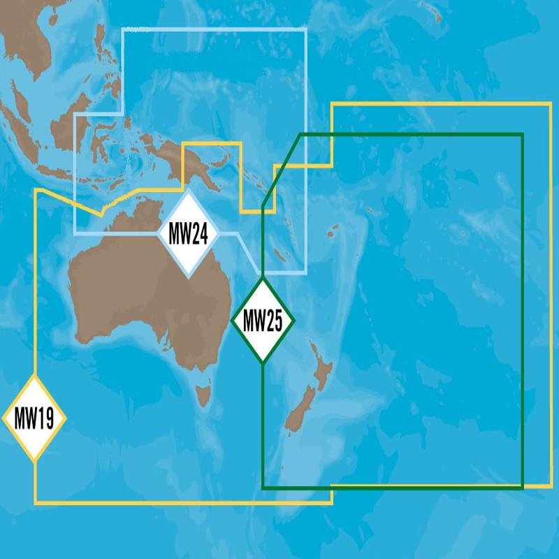 CMAP C-MAP 4D MAX+ Wide Australia Region nominate wide area