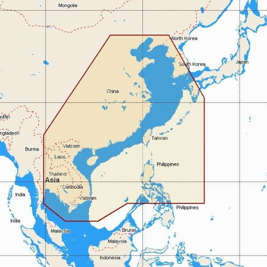 MW12 - Gulf of Thaïland to Yellow Sea