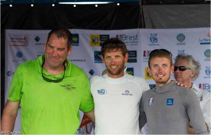 Podium Transat Bretagne Martinique