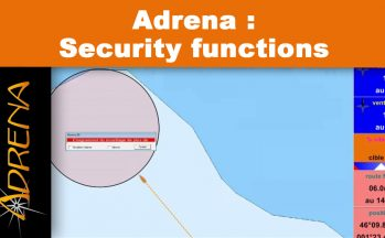 Security functions on sea with Adrena