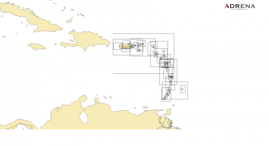 Pack Lesser Antilles (Grenada to Puerto Rico)