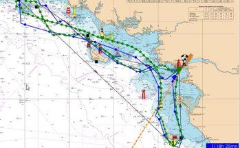 Routing on Coastal Courses