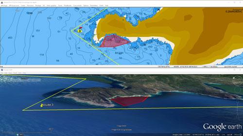 Export de données dans Google earth