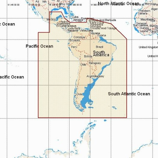 MW - SOUTH AMERICA & SOUTH CARIBBEAN SEA