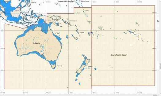 MW - AUS-NZ, PNG, VANU, NEW CAL, FIJI, FR POL