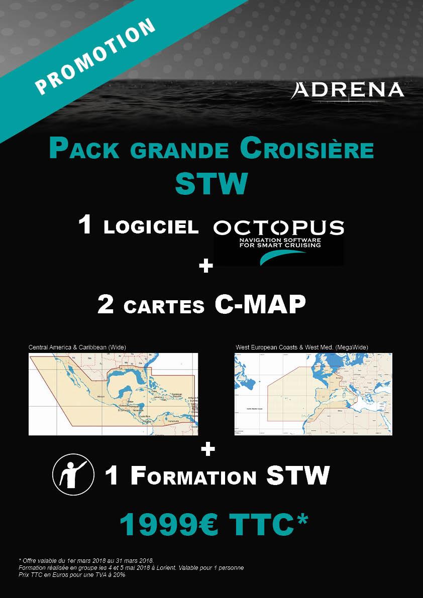Promo Octopus Pack Grande Croisière STW