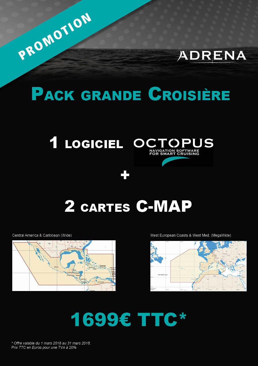 Promo Octopus Pack Grande Croisière