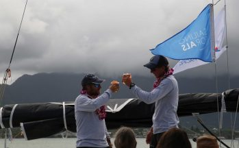 Victory of Charles Devanneaux on Figaro 3 with Adrena