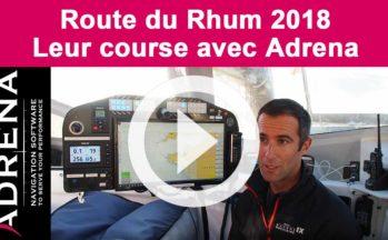 La Route du Rhum 2018 : leur course avec Adrena !