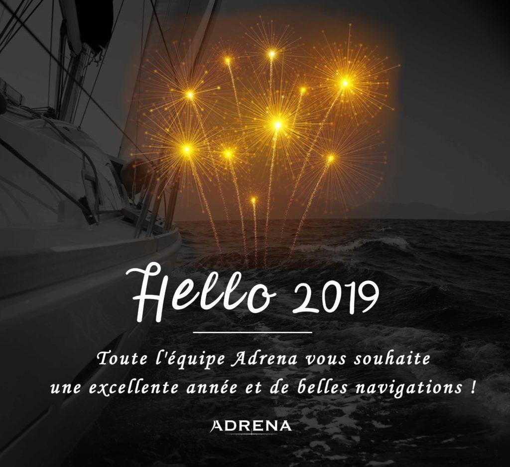 Carte de voeux Adrena 2019