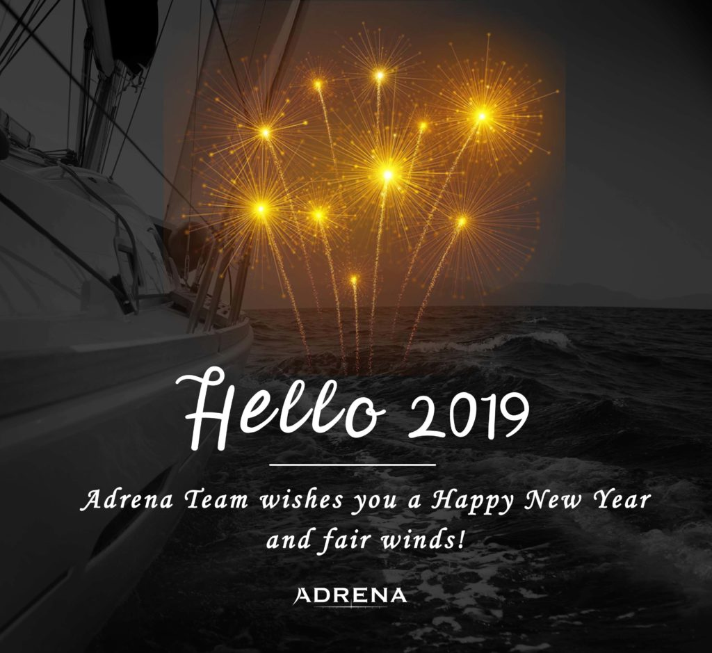 Wishes card Adrena 2019