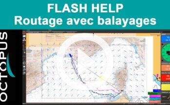 Video Flash Help : Calculer un routage avec balayages avec Octopus