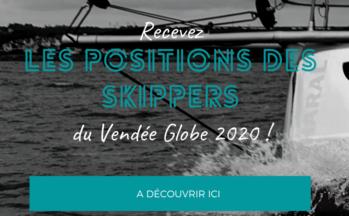 Recevez les positions des skippers du Vendée Globe !